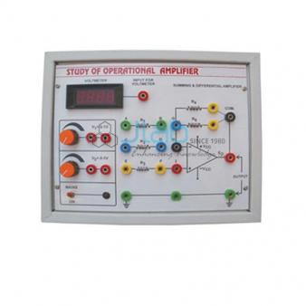 Characteristics Operational Amplifiers