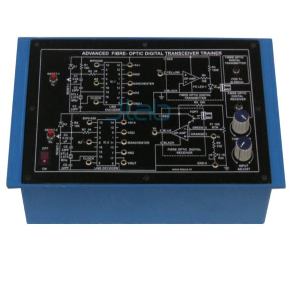 Advanced Fibre Optic Digital Transceiver Trainer