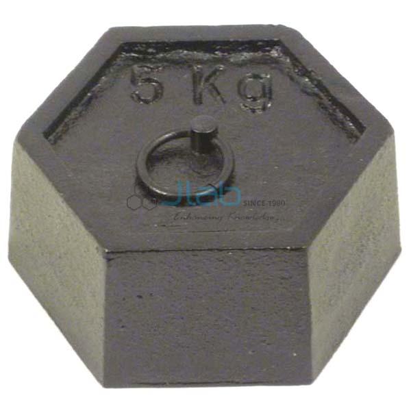 Hexagonal Mass with Ring 5000g
