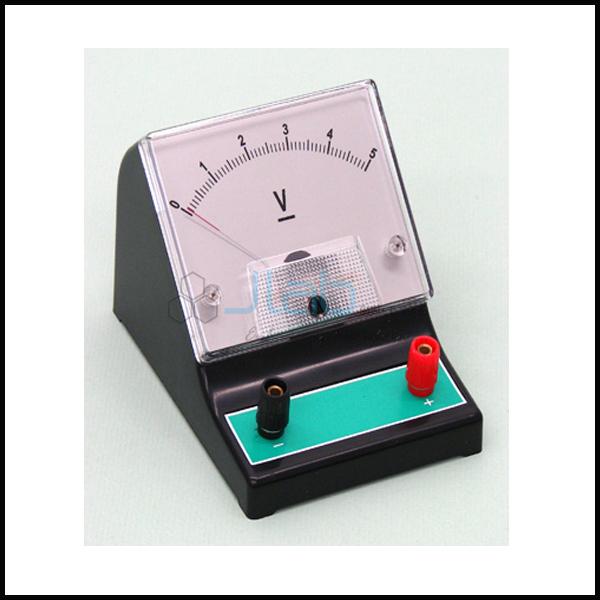 Voltmeter Triple Range 0-3 and 0-15 and 0-30V DC JLab