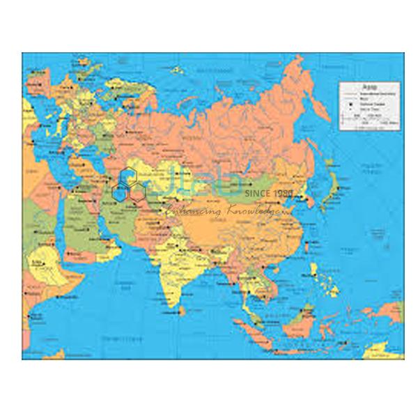 Asia Political Chart