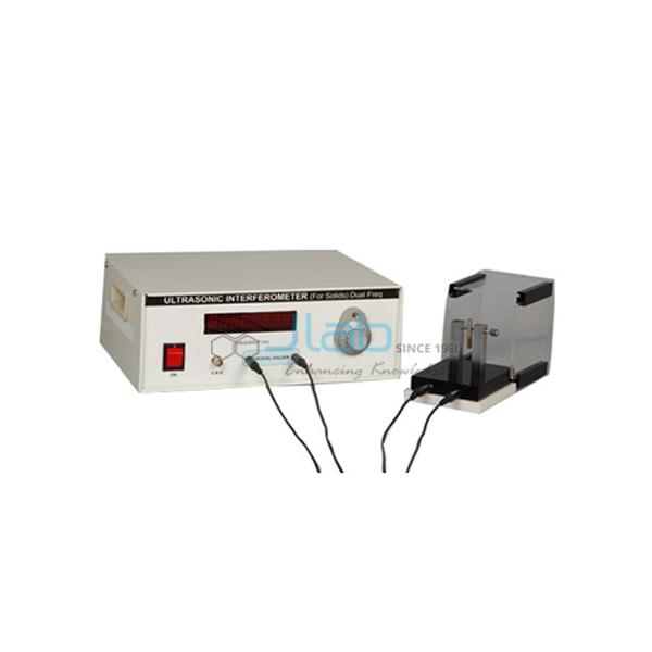Ultrasonic Interferometer For Solid