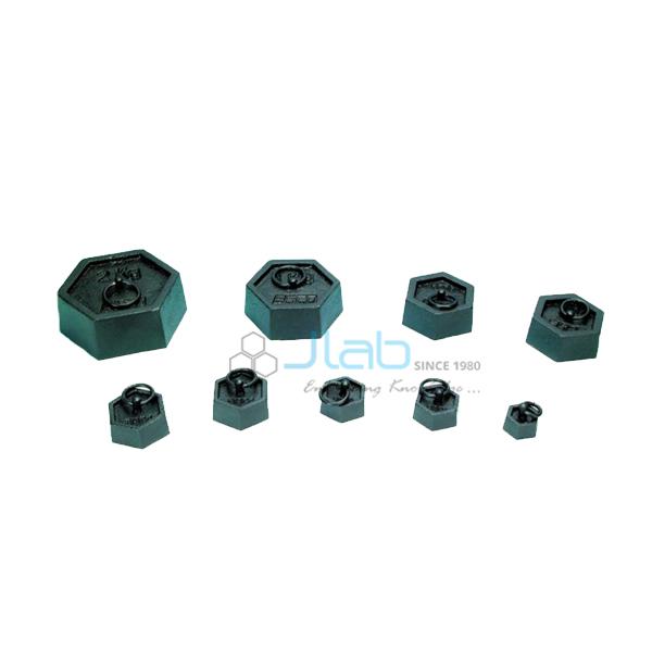 Hexagonal Mass with Ring