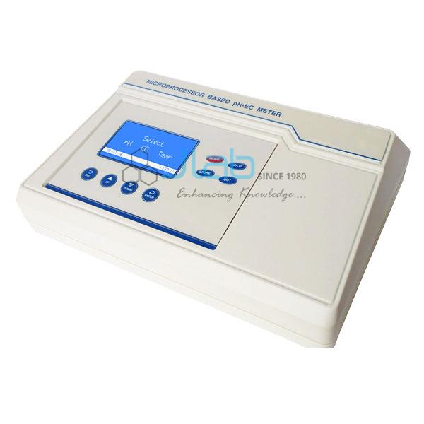 Microprocessor pH-EC Meter