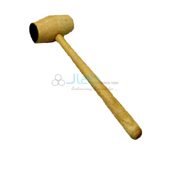 Tuning Fork Wooden Mallet Hammer