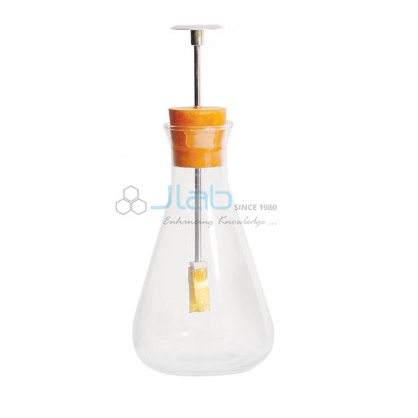 Gold Leaf Electroscope in Flask
