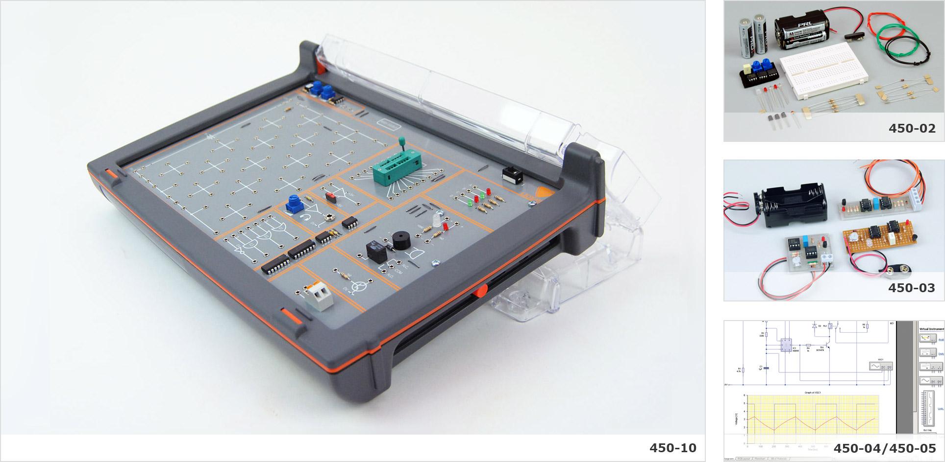 Electronic Circuits Trainer Teaching Set