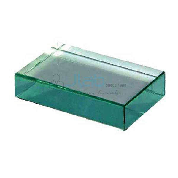 Acrylic Block Rectangular 100 x 45 x 25 mm JLab