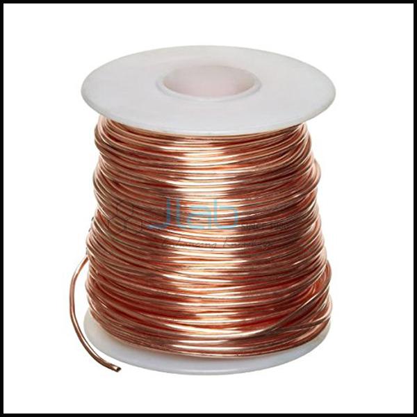 Bare Copper Wire 18 SWG 1lb JLab