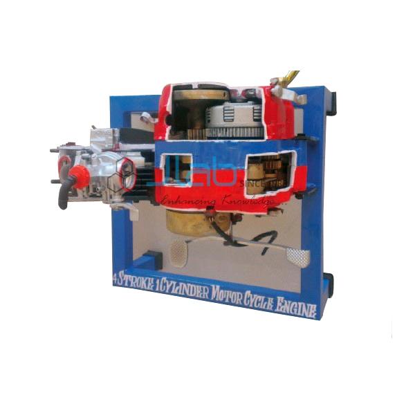 4 Stroke 1 Cylinder Petrol Engine Driven Manual