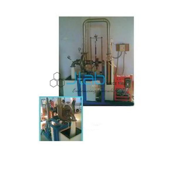 Francis Turbine Test Setup