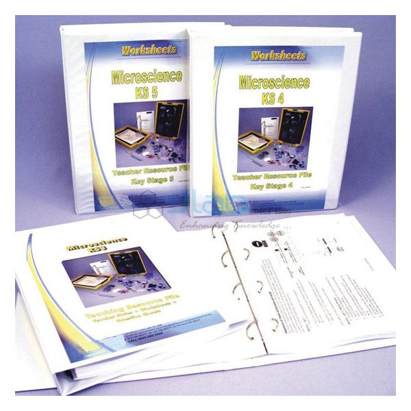 Micro Chem Worksheets Key Stage 3 in binder