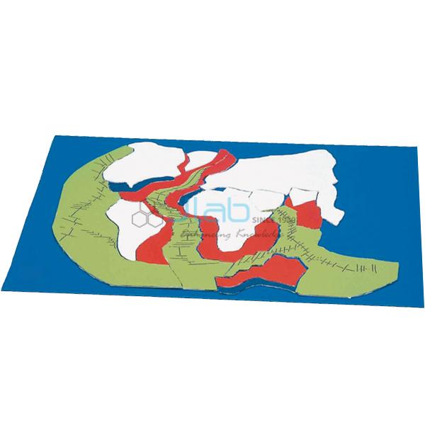 Sea Floor Spreading Activity Model JLab