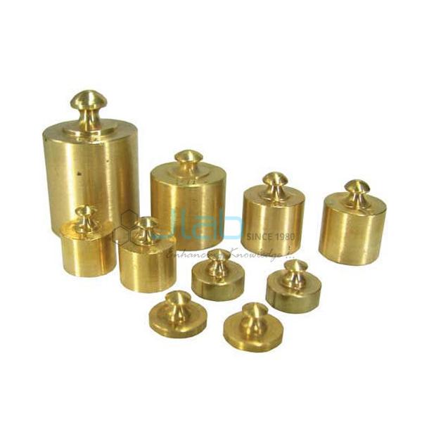 Spare Analytical Gram Weights Brass C.P.