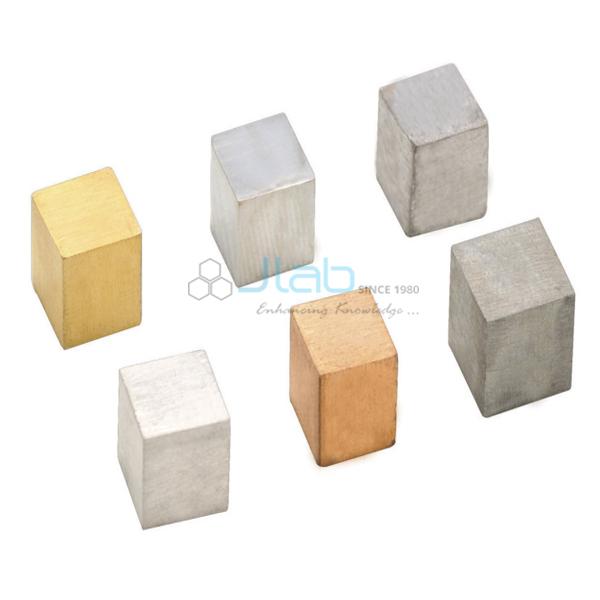 Density Metal Cubes 20 mm