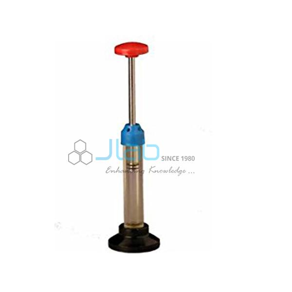 Fire Syringe Boyles Law