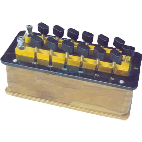 P.O. Box Ratio Manganin Coil