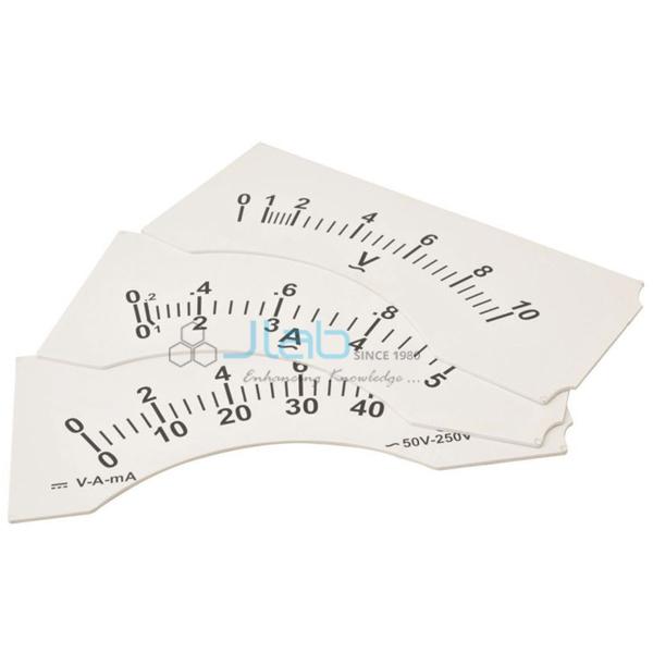 Demonstration Meter Dial 0 - 500millivolt