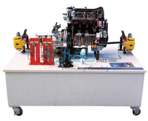 Automotive Power Train Training Equipment SOHC Gasoline
