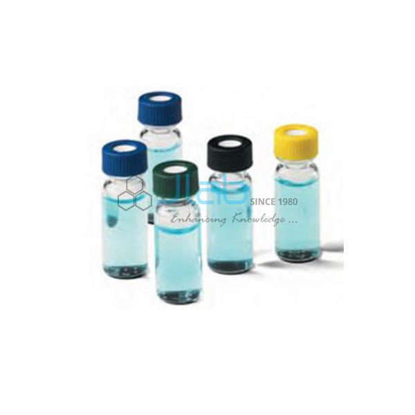 Auto-sampler vials hplc gc 2ml 11mm crimp top thread clear wide.