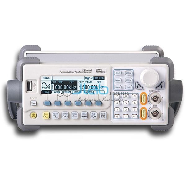 Dual-Channel Function/Arbitrary Waveform Generators