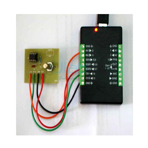 Monostable Multivibrator using IC 555