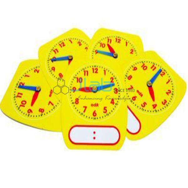 Student Clock Write and Wipe