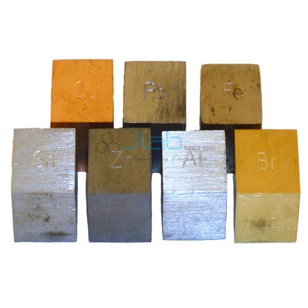 Density Metal Cubes 20mm
