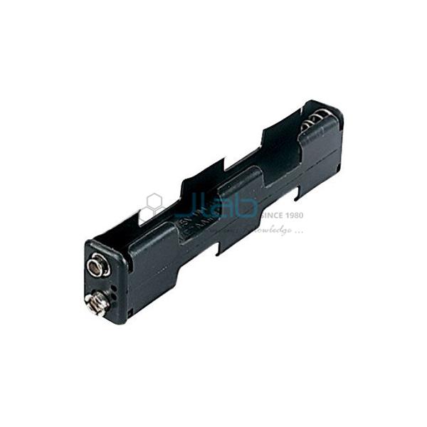 Long Battery Holder 4 x AA