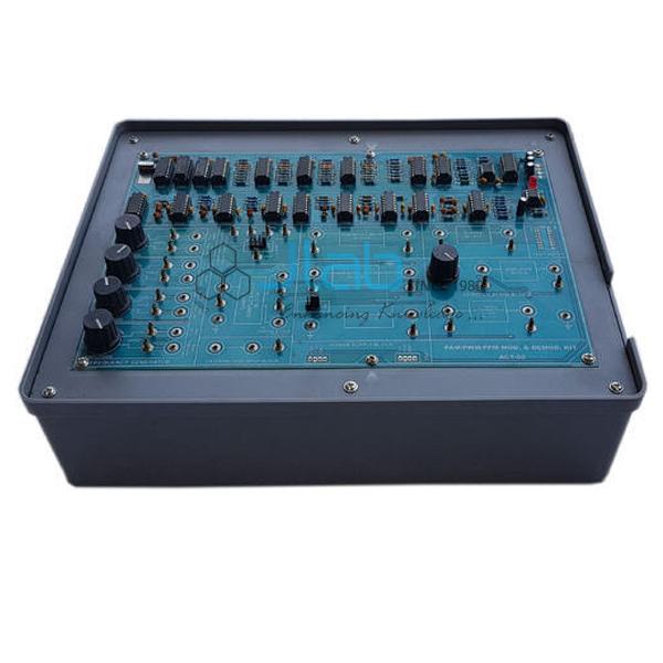 PAM/PWM/PPM Modulation/Demodulation Kit