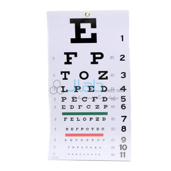 Eye Testing Apparatus for Near Vision