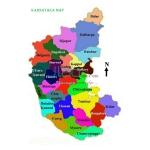 Karnataka Political Map Chart
