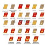 Rank Badges Chart