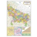 Uttar Pradesh Political Map Chart
