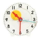 Geared Teacher Clock