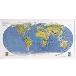 Geo Physical World Map