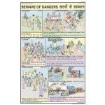 Beware of Dangers Chart