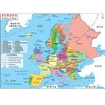 Europe Political Chart