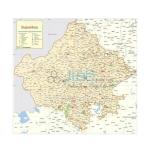 Rajasthan Political Map Chart